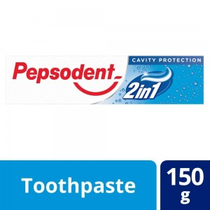 Pepsodent 2-in-1 Toothpaste (150 g) | Fresh Breath, Cavities