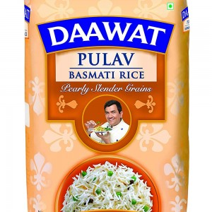 Daawat Pulav Basmati Rice, 1kg | Non Sticky
