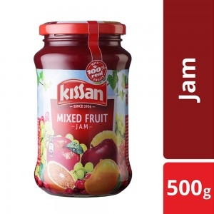 Kissan Mixed Fruit Jam, With 100% Real Fruit Ingredients, 500 g