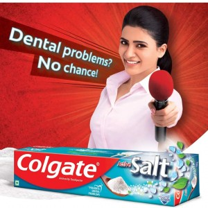 Colgate Active Salt Toothpaste, Germ Fighting Toothpaste for Healthy Teeth, 200g