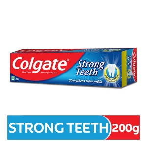 Colgate Strong Teeth with Amino Shakti Toothpaste 200 gm