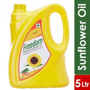 Freedom Refined Sunflower Oil, 5L